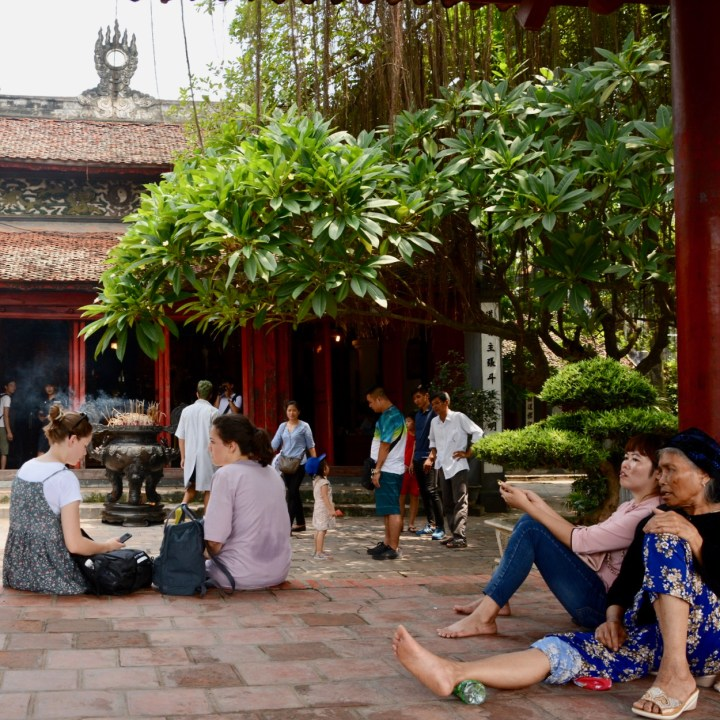 travel with kids vietnam hoi an resting