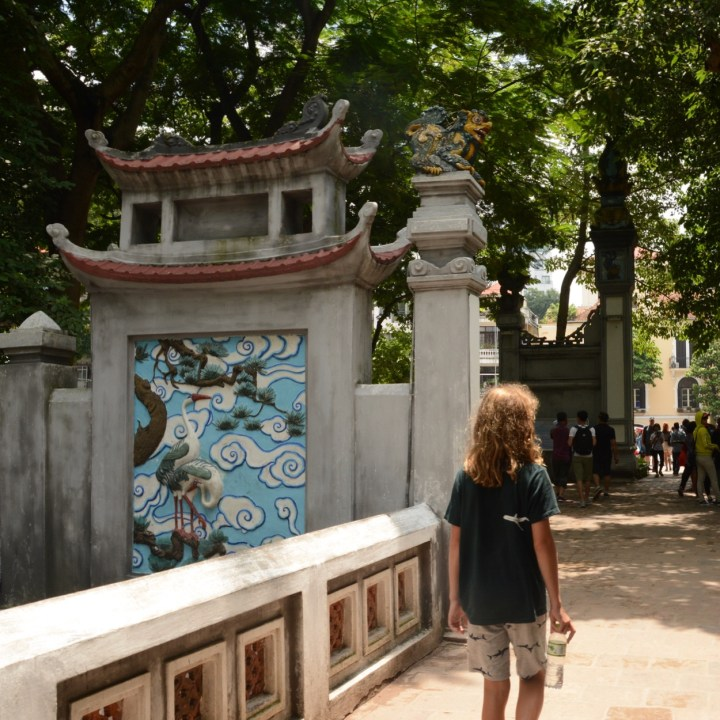 travel with kids vietnam hoi an temple entrance