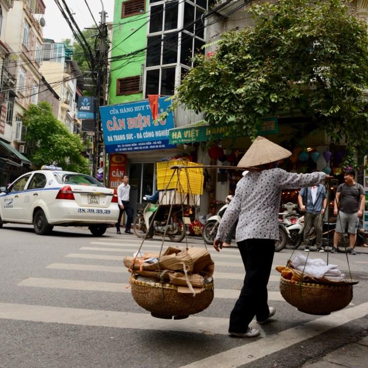 travel with kids vietnam hoi an street vendor