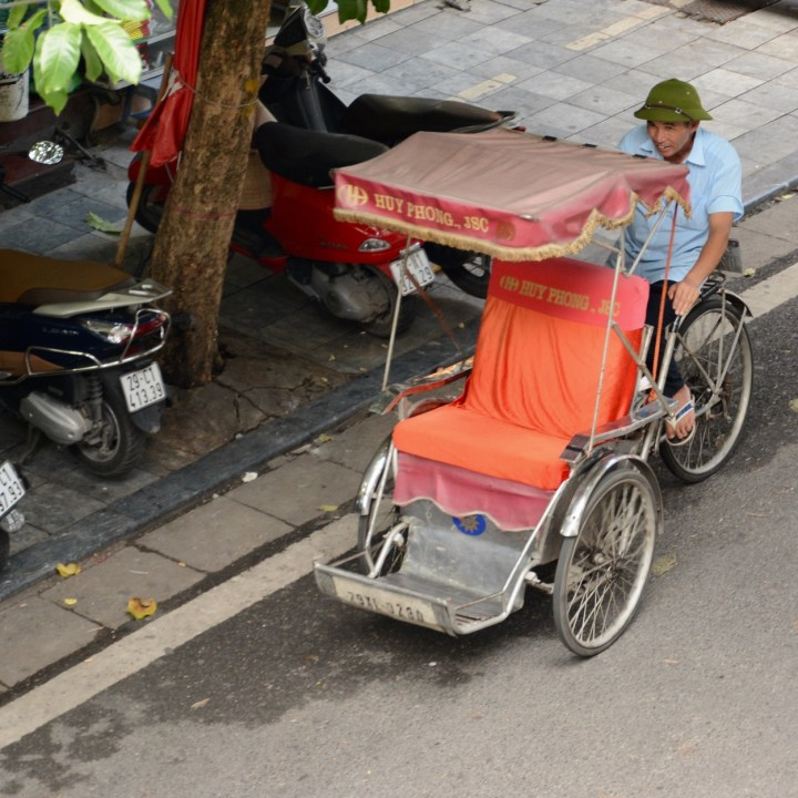 travel with kids vietnam hoi an pushbike