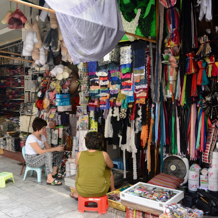 travel with kids vietnam hoi an hosiery shop