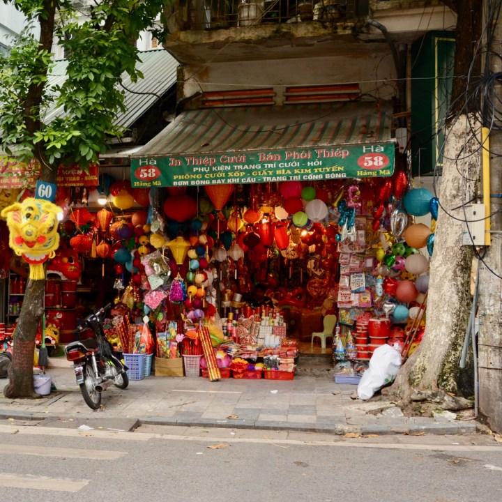 travel with kids vietnam hoi an lantern shop