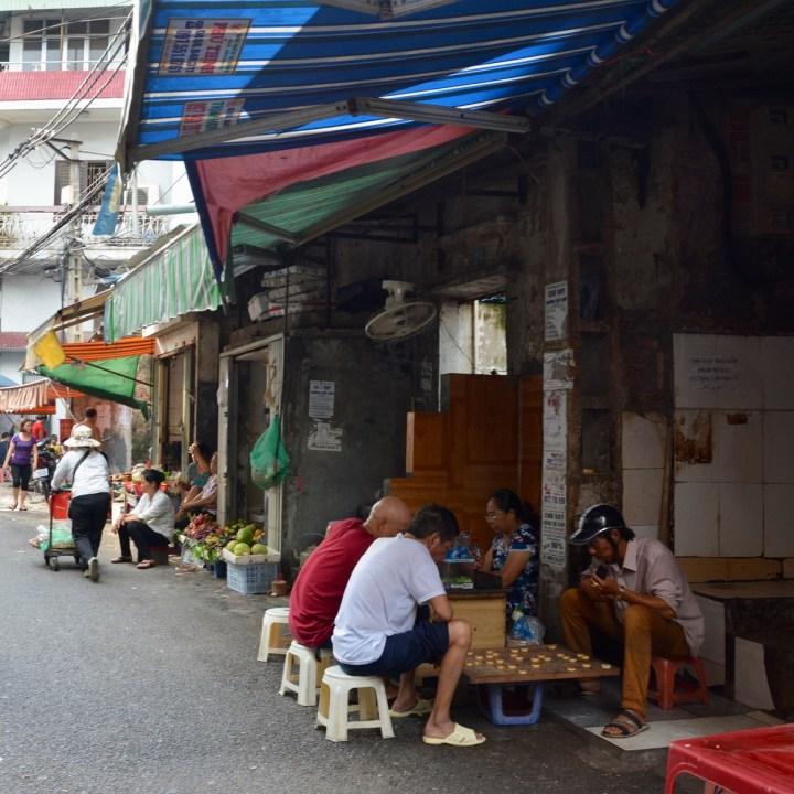travel with kids vietnam hanoi game