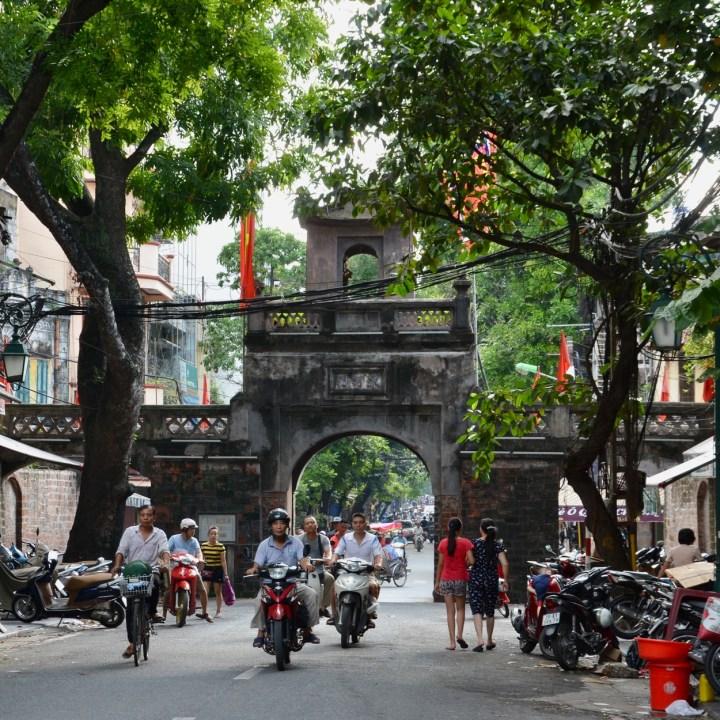 travel with kids vietnam hanoi gate