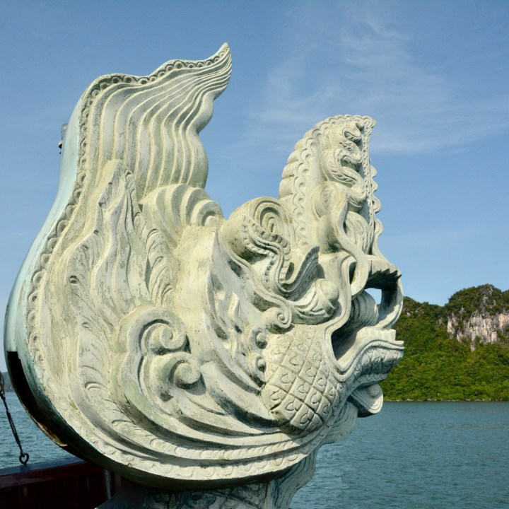 vietnam with kids ha long bay dragon's pearl
