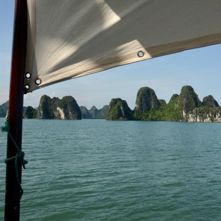 Ha Long Bay, Vietnam   Cruising the Limestone Karsts in Bai Tu Long Bay