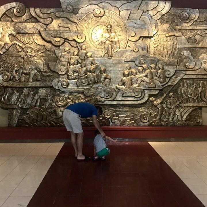 travel with kids vietnam hanoi museum
