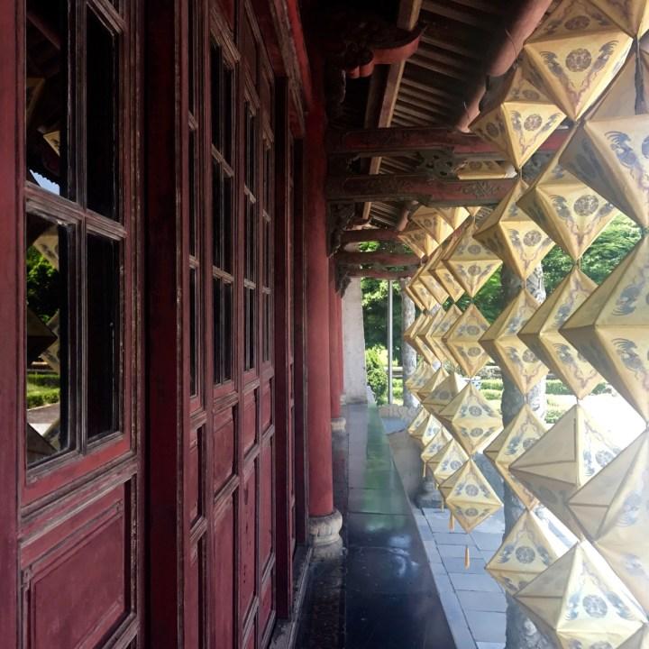 travel with kids vietnam hue lanterns