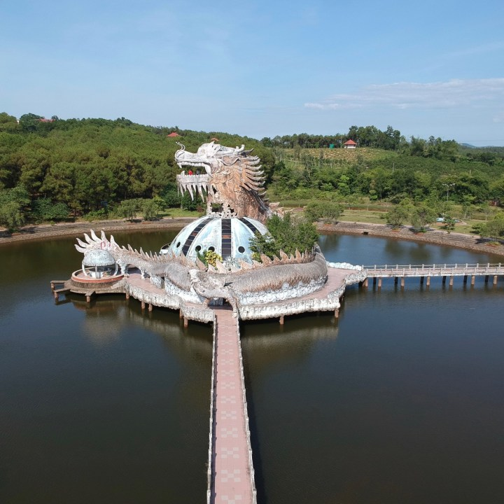 travel with kids vietnam hue dragon waterpark