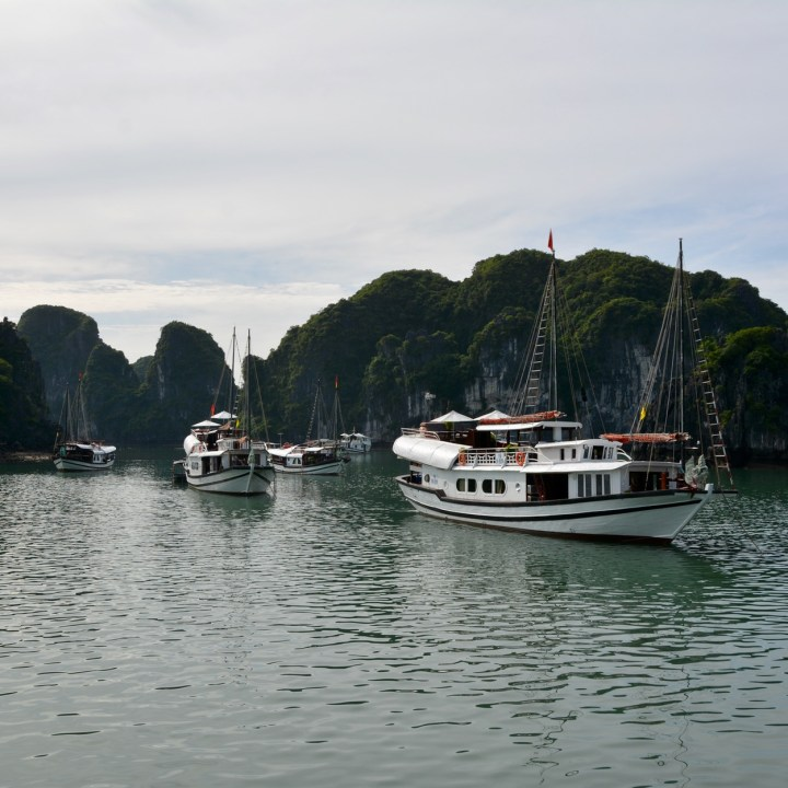 vietnam with kids ha long bay junks