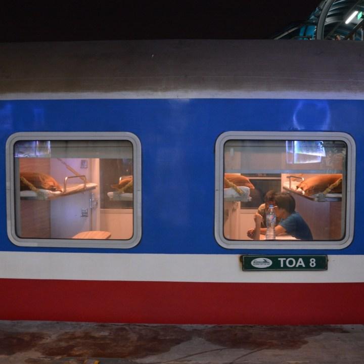 vietnam with kids hanoi overnight train soft berth sleeper