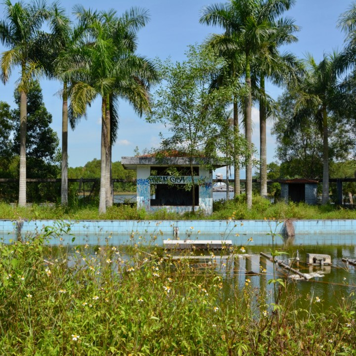 vietnam with kids hue abandoned waterpark water puppet theatre