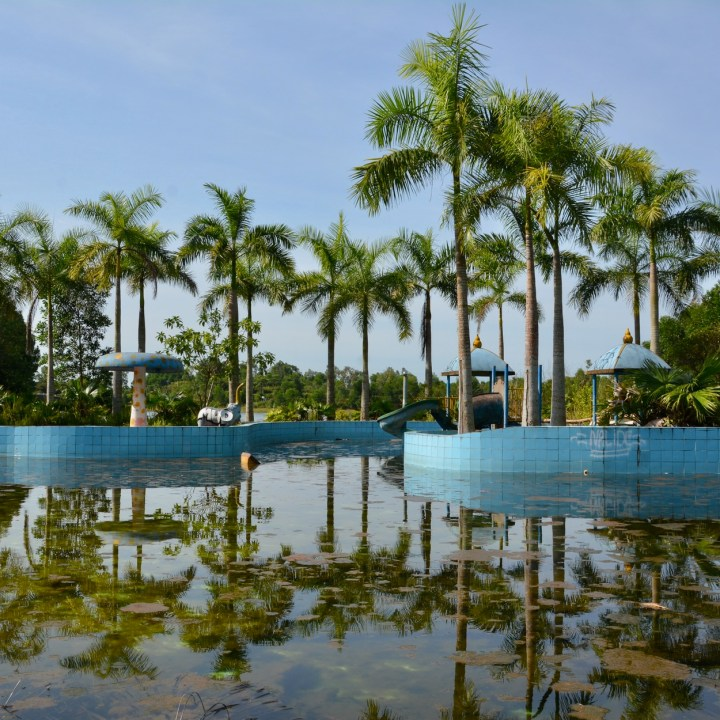 vietnam with kids hue abandoned waterpark kid's pool