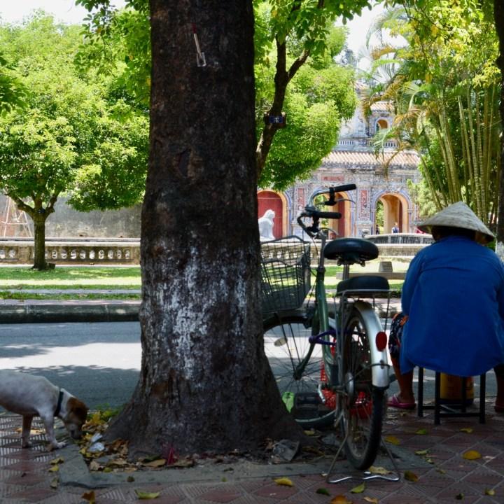 vietnam with kids hue citadel gate