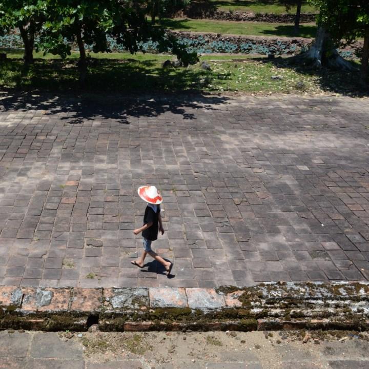 vietnam travel with kids hue Tomb of King Thieu Tri exploring