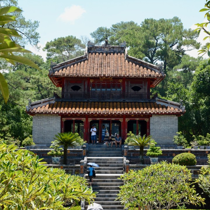 vietnam with kids hue tomb minh mang pavilion