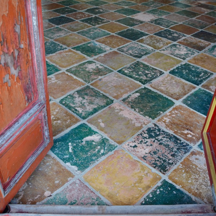 vietnam with kids hue tomb minh mang floor tiles