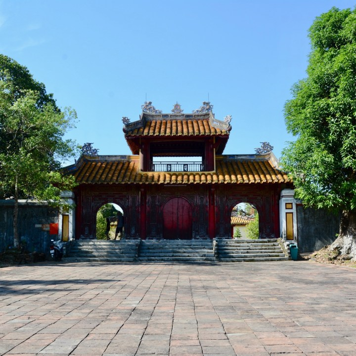 vietnam with kids hue gia long tomb temple