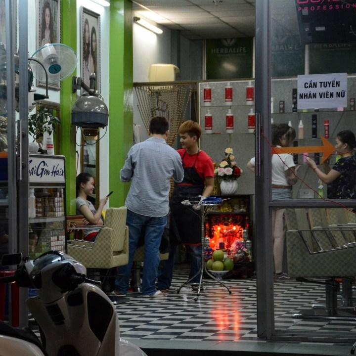 vietnam with kids hue evenings barber shop