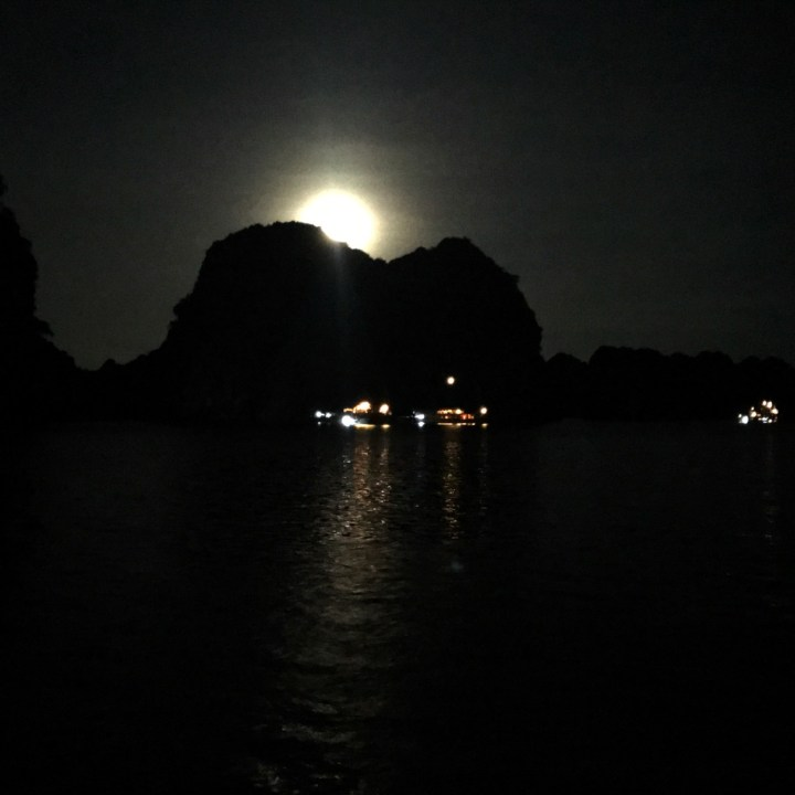 vietnam with kids ha long bay full moon