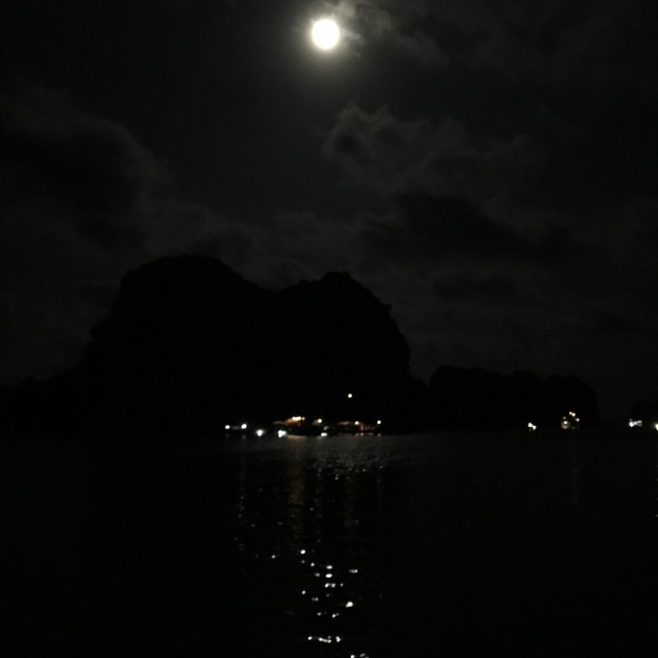 vietnam with kids ha long bay moon light