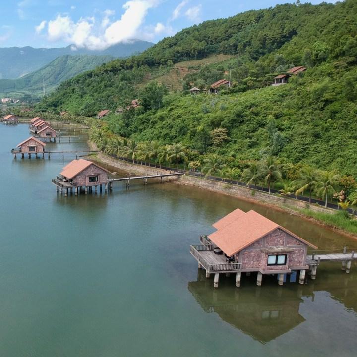 vietnam with kids vedana lagoon resort water villas