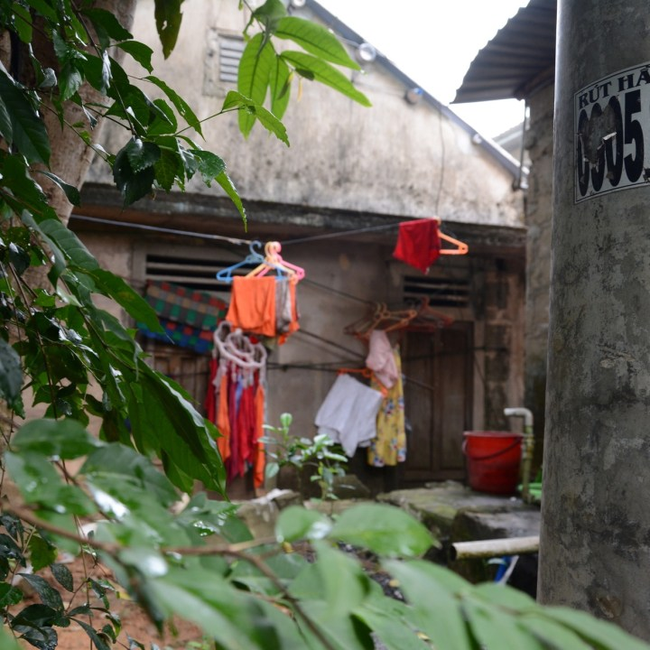 vietnam travel with kids vedana lagoon washing line