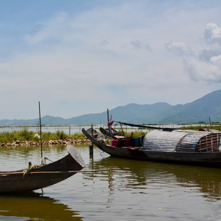 vietnam with kids cai lau lagoon house boat