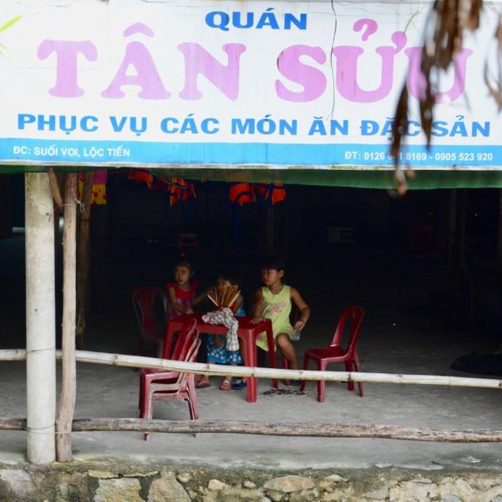 vietnam travel with kids elephant springs kids