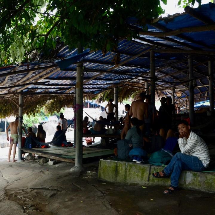 vietnam travel with kids elephant springs locals