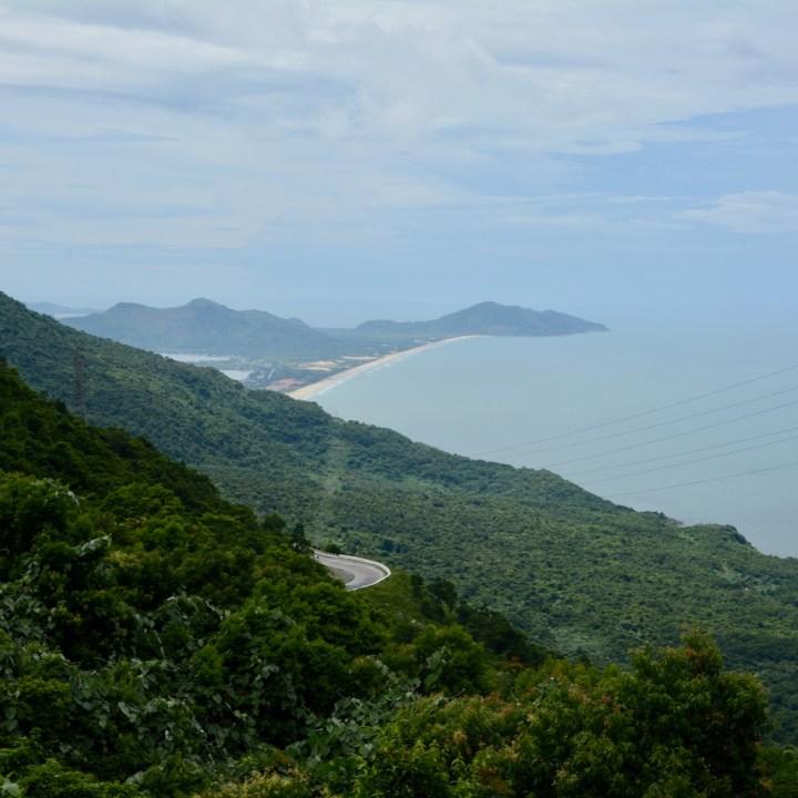 vietnam travel with kids hai van pass views