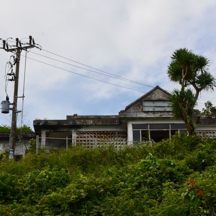 vietnam travel with kids hai van pass abandoned house