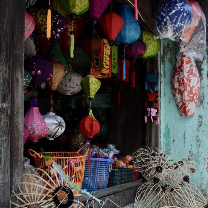 vietnam with kids hoi an lanterns