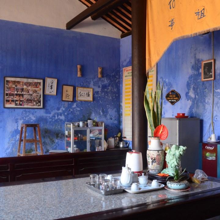 vietnam with kids hoi an phuoc kien tea time
