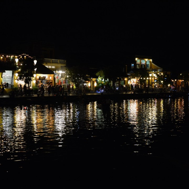 hoi an by night with kids views