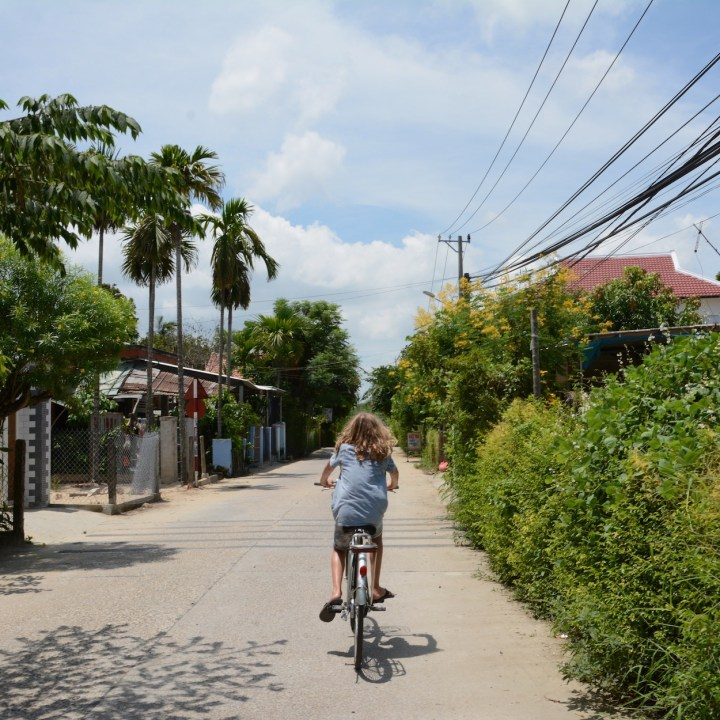 vietnam travel with kids hoi an rural bike ride cycling