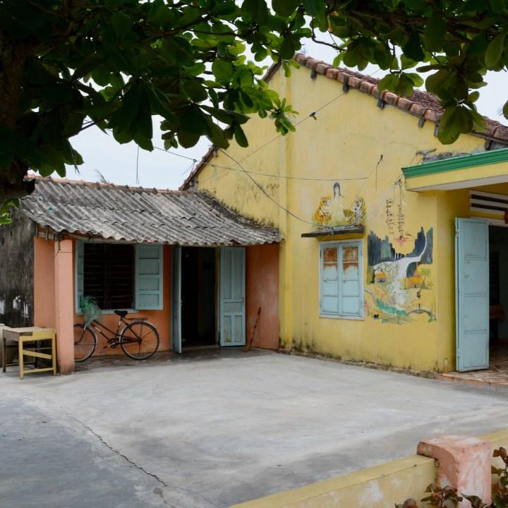 travel with kids vietnam tam than art village tigers