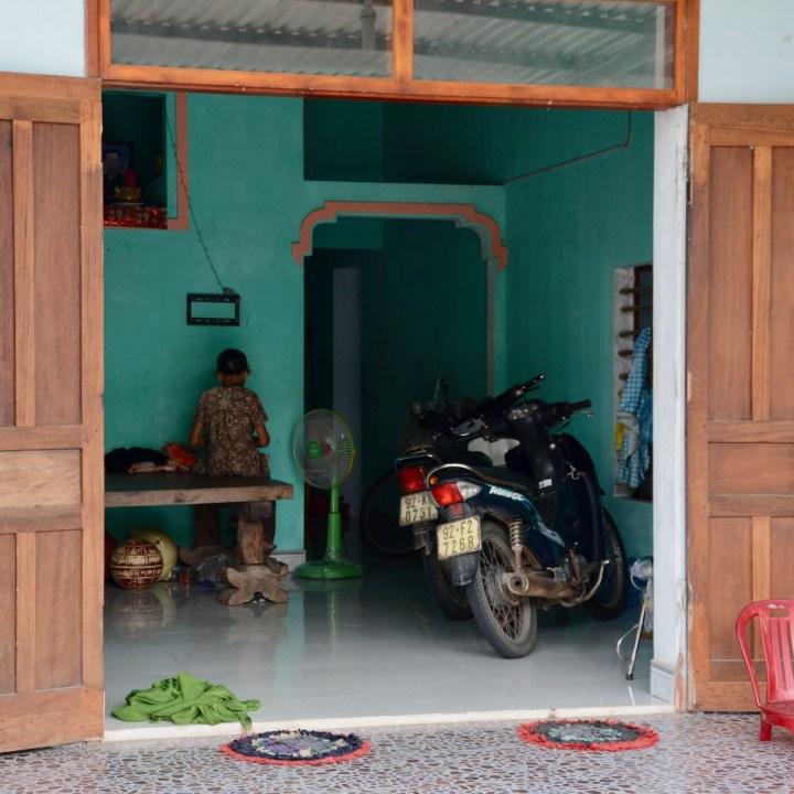 travel with kids vietnam tam than art village parking