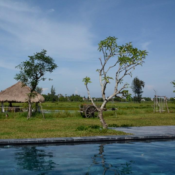 vietnam with kids hoi an allamanda estate pool