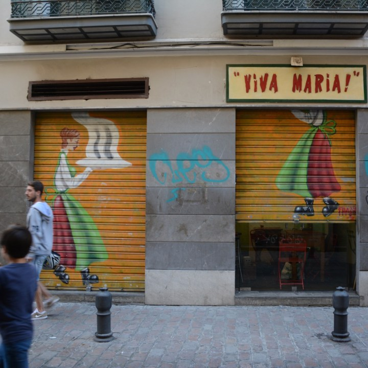 Granada spain with kids viva maria