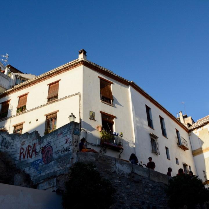 Granada spain with kids albayzin