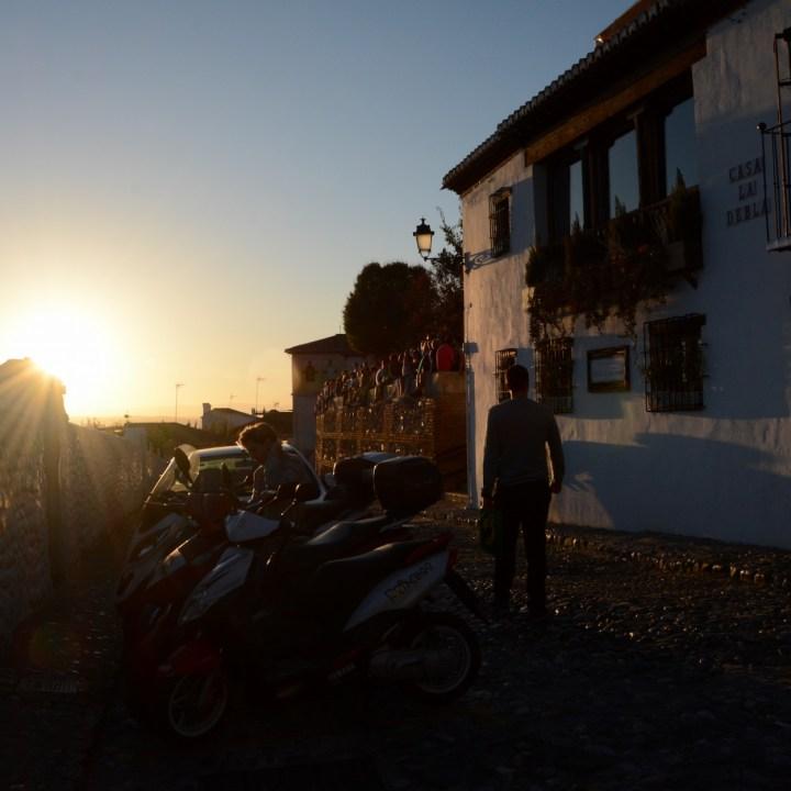 Granada spain with kids sunset seeker
