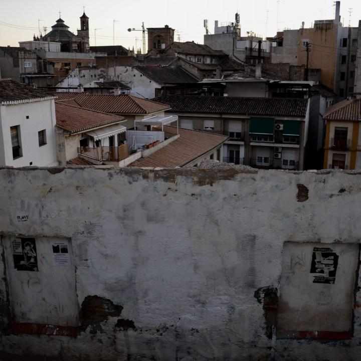 Granada spain with kids rooftops