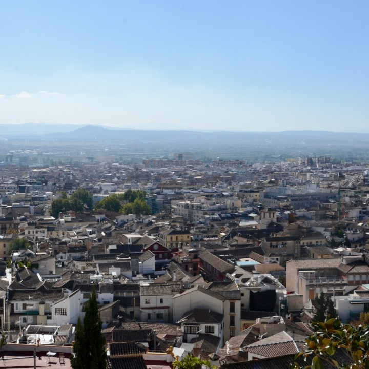 granada with kids rooftop views