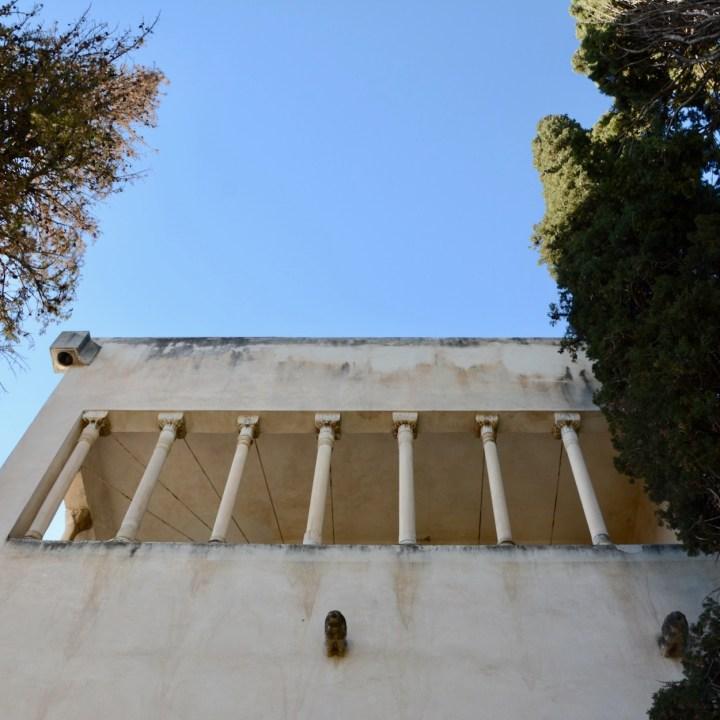 granada with kids fundacion rodriguez acosta columns
