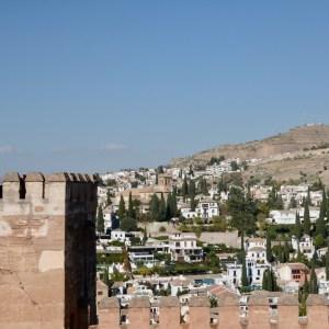 alhambra with kids nasrid palace albaicin views