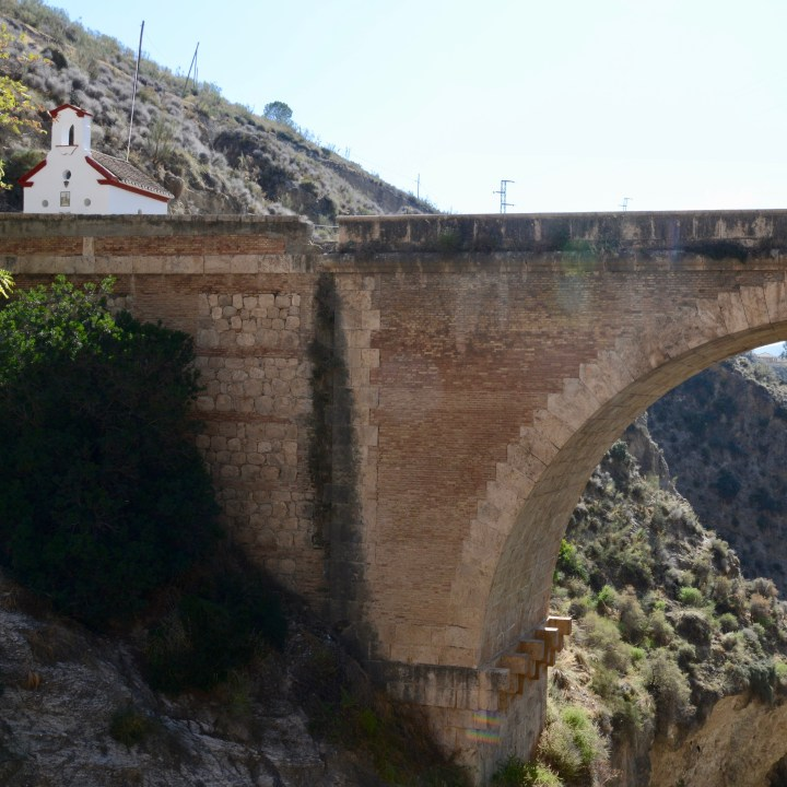 las alpujarras with kids chapel bridge