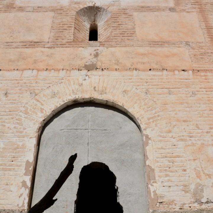 las alpujarras with kids abandoned village church