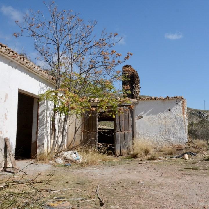 las alpujarras with kids abandoned village shed