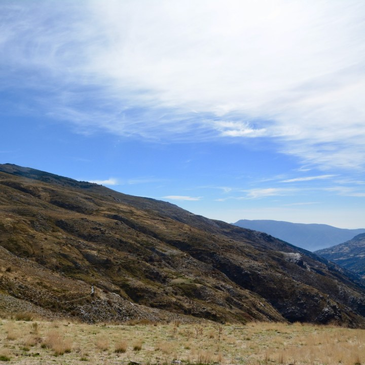 hiking with kids las aplujarras poqueira gorge valley view